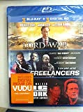 3 Blu-Ray Movie Collection Lord of War, Freelancers, King of New York