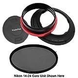 Fotodiox WonderPana 145 Essentials Kit-System Holder, Lens Cap and CPL Filter for the Nikon 14-24mm f/2.8G ED AF-S Nikkor Wide Angle Zoom Lens