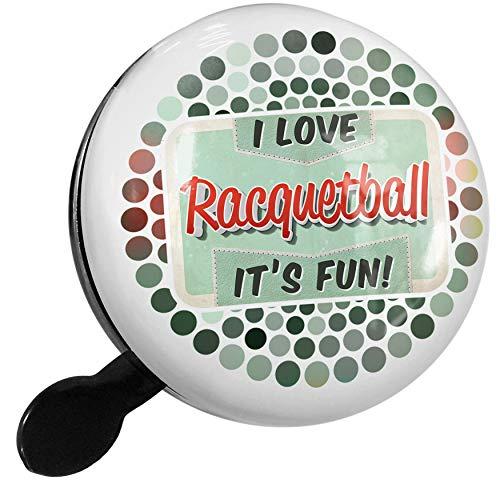 e16794494e NEONBLOND Bike Bell I Love Racquetball