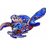 SUNSOUT INC Swimming Lesson (sea Turtle Shape) 1000 pc Jigsaw Puzzle