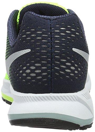 Nike 834316-701, Zapatillas de Deporte para Niños Amarillo (Volt / Metallic Silver / Obsidian Green Glow)