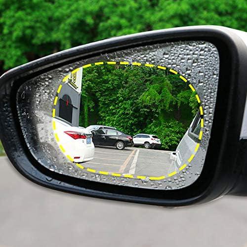 Martinimble 2Pcs//Set Anti Fog Car Mirror Window Clear Film Car Rearview Protective Film Waterproof