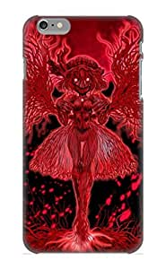 Flexible Tpu Back Case Cover For Iphone 6 Plus - Anime Touhou