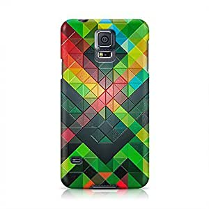 Texture Hard Plastic Snap-On Case For Samsung Galaxy S5