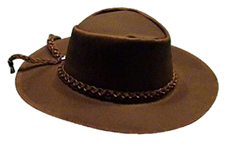 71a394ea1d4 Sharpshooter Clint Eastwood Good Bad Ugly Brown Leather Cowboy Hat
