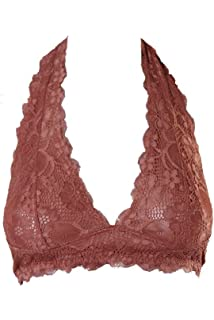 221316a1491b1e Intimately Free People Womens Cropped Scalloped Bralette Pink XS at ...