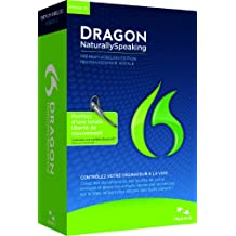 Dragon NaturallySpeaking Premium 12, Bluetooth (Wireless), French