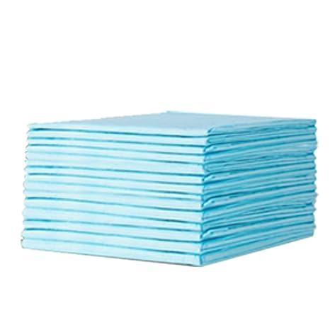 ROSENICE Pañales desechables del bebé 30pcs Protección de la cama Almohadillas absorbentes Pañales impermeables transpirables (