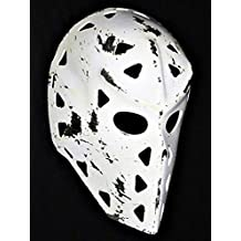 1:1 Custom Vintage Fiberglass Roller NHL Ice Hockey Goalie Mask Helmet Mike Liut worn look HO02