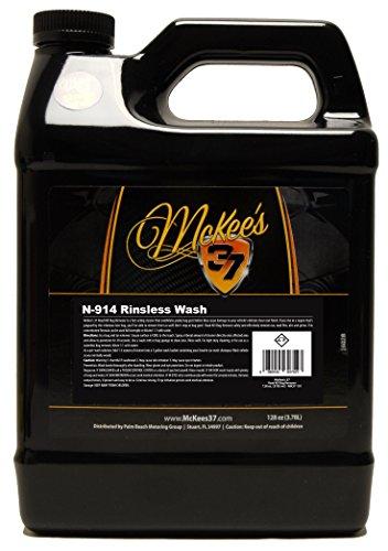 - McKee's 37 MK37-581 N-914 Rinseless Waterless Wash, 128 fl. oz