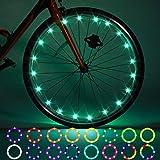 2 Pack LED Bike Wheel Lights, Remote Control