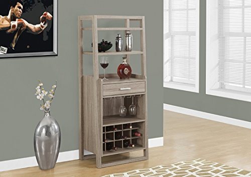 Monarch Home Bar Dark Taupe product image