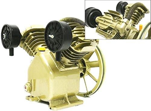 Twin Cylinder V Style Air Compressor Pump 3HP 2 Piston Motor - Compressor Husky Home Air Depot