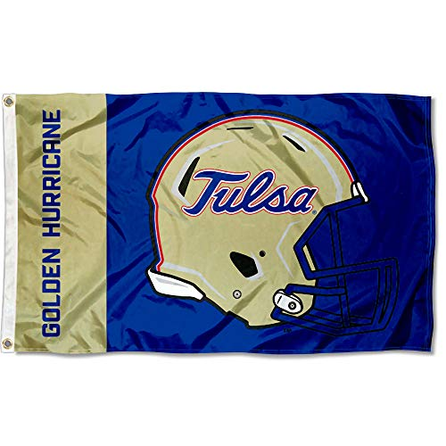 College Flags and Banners Co. Tulsa Hurricanes Football Helmet Flag