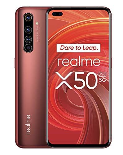 "realme X50 Pro – Smartphone 5G de 6.44"", 8 GB RAM + 256 GB ROM, procesador OctaCore Qualcomm Snapdragon 865, cuádruple…"