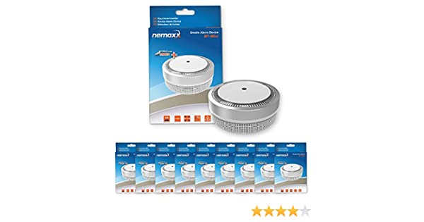Nemaxx M1 Mini - Detector de humo - sensibles, color plateado: Amazon.es: Bricolaje y herramientas