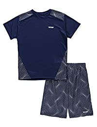 Hind Boys' 2-Piece Performance Short Set Outfit