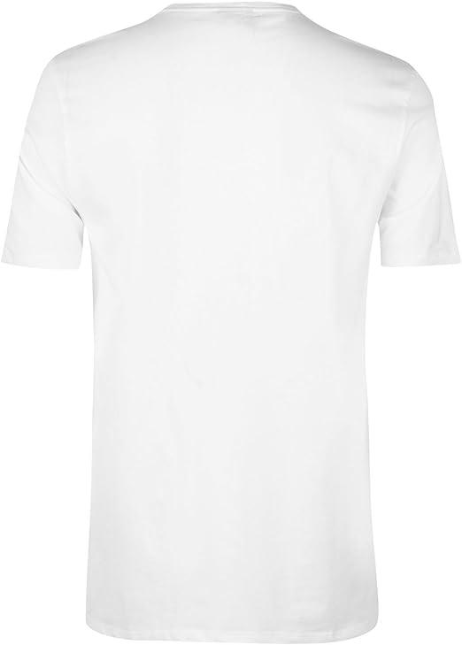 Camiseta para Hombre Everlast Blanco XXL: Amazon.es: Ropa y accesorios