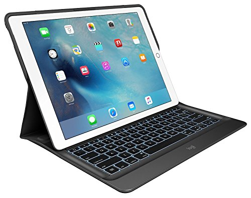 Logitech iPad Pro 12.9 Keyboard Case | Create: Backlit Wi...