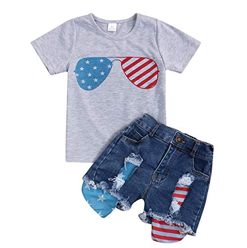 2Pcs Fashion Toddler Kids Baby Girl Denim Shorts