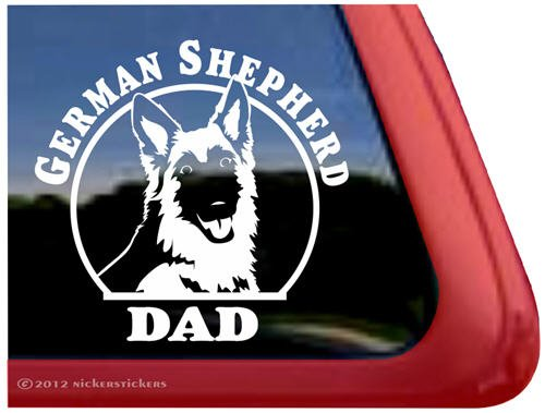 German Shepherd Vinyl Window Sticker