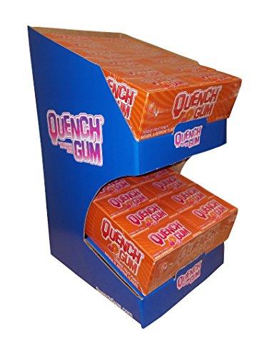 (Mueller Quench Shelf Talker - Fruit/Orange - 2 trays of 24 - 10 stick packs)