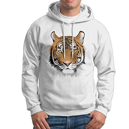 Men's Tiger Face Clip Art Sweatshirts (Face Clipart)