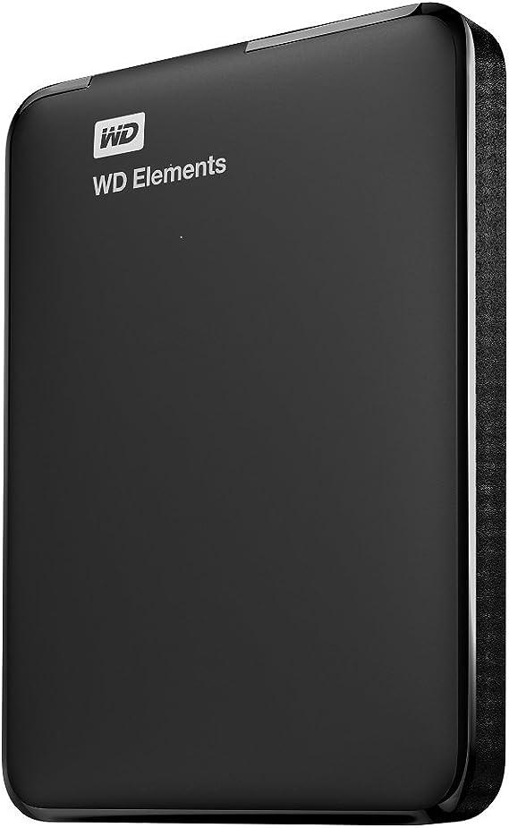 WD Elements - Disco duro externo de 1 TB (USB 3.0), color negro: Amazon.es: Informática