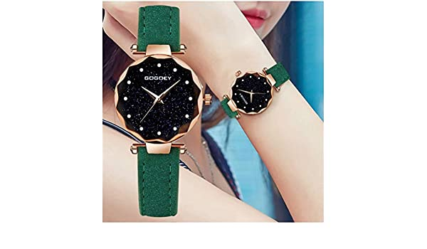 Amazon.com: relojes mujer Luxury Brand Gogoey Women Watches Personality romantic starry sky Wrist Watch Rhinestone Design Ladies Clock: Home Improvement