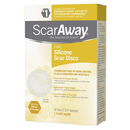 ScarAway Silicone Daily Discs Bandages, 30 Count - Buy Online in
