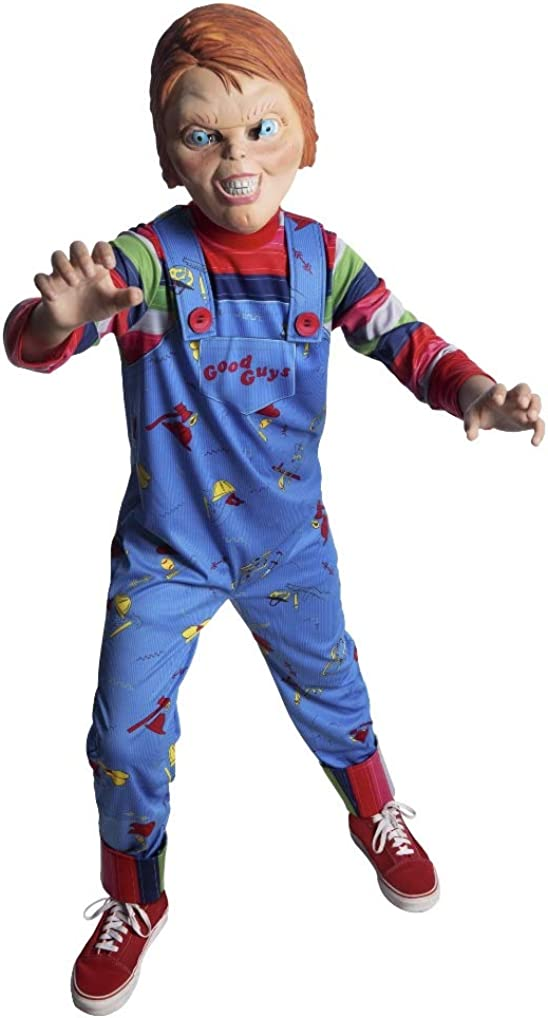 Chucky Halloween Costume Child's Play Child Sizes INCLUDES ALL ACCESORIES Boys
