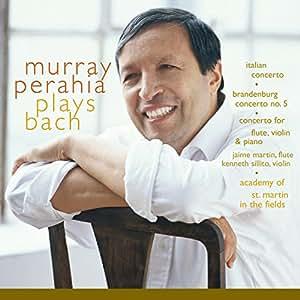 Murray Perahia Plays Bach:  Italian Concerto, BWV 971; Brandenburg Concerto No 5, BWV 1050; Concerto for flute, violin, harpsichord, BWV 1044