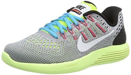 Nike 843726-017, Zapatillas de Trail Running para Mujer Gris (Wolf Grey/White-Volt-Gamma Blue)