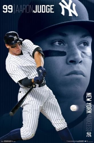b14b51d09e9 Amazon.com  Trends Aaron Judge - New York Yankees - MLB Poster 22 x 34   Posters   Prints