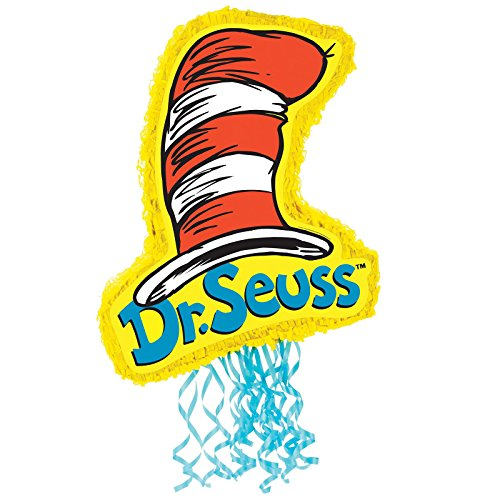 Dr Seuss Party Supplies - Pull-String (Dr Seuss Party Invitations)