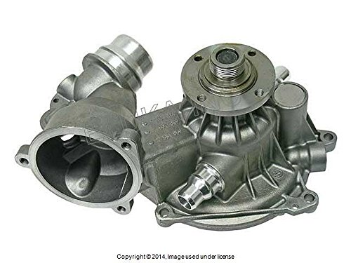 (BMW Genuine Water Pump with Gasket and Heater Return Pipe O-Ring X5 4.4i X5 4.8is 545i 645Ci 645Ci 745i ALPINA B7 745Li)