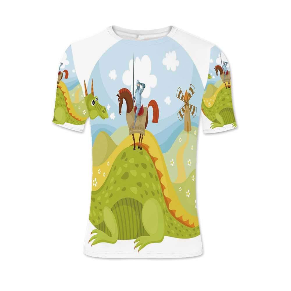 Henna Fashionable T Shirt,for Men,S