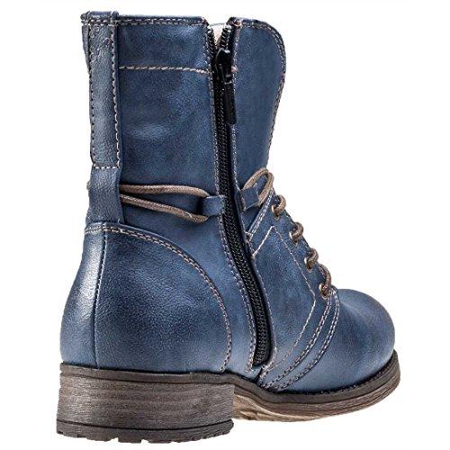 1139610 Boots Femme Mustang 1139610 Bleu Mustang qU0wEwB