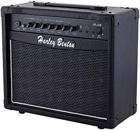 Amplificador para guitarra eléctrica con Reverberación Harley ...