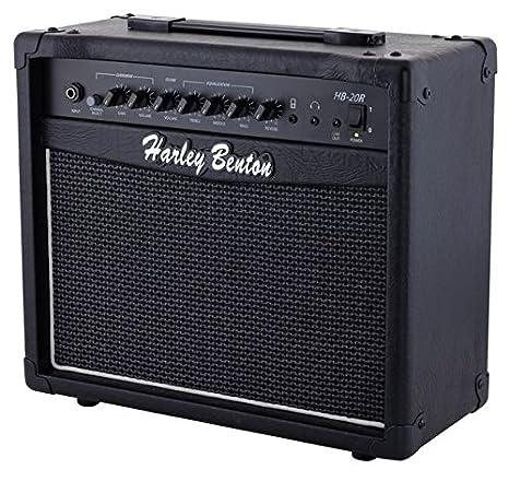 Amplificador para guitarra eléctrica con Reverberación Harley Benton hb-20r: Amazon.es: Instrumentos musicales