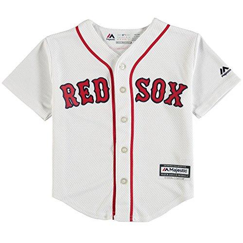 Outerstuff Andrew Benintendi Boston Red Sox #16 Kids 4-7 Cool Base Home Jersey (Kids Medium 5/6)