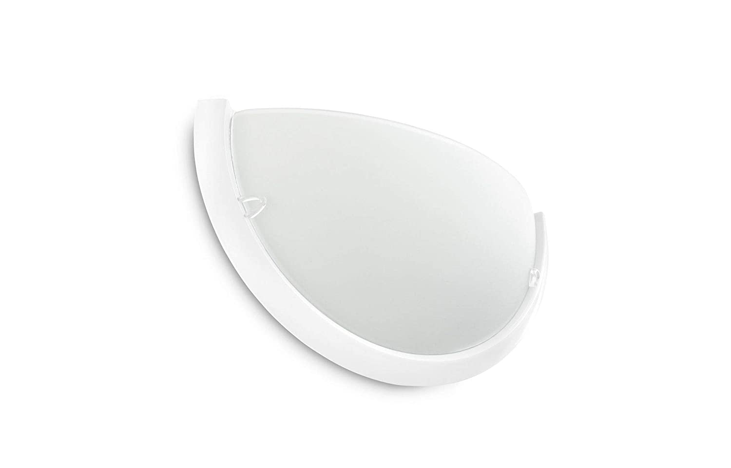 1 bombilla s L/ámpara Philips myLiving Circle white Wall light , E27, IP20, Blanco