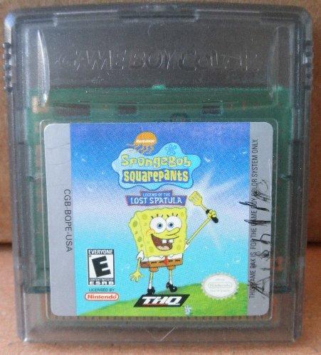 Spongebob Squarepants: Legend of the Lost Spatula (Nintendo Game Boy Color) - Rated E