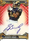Football NFL 2013 Finest Rookie Red Refractor Autographs #135 Stedman Bailey RC Rookie Auto /15 Rams
