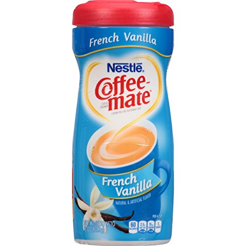 Coffee Mate Coffee Mate French Vanilla Powder Coffee Creamer 15 oz. Canister, 6 oz