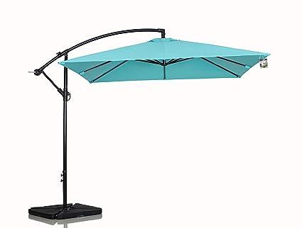 Amazon.com: sumbel Living 10 ft Parasol de Patio al aire ...
