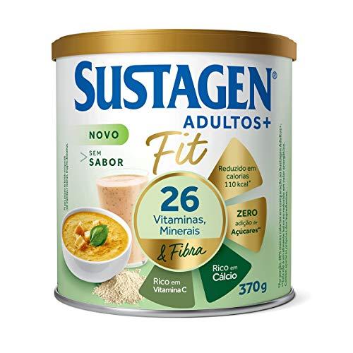 Complemento Alimentar Sustagen Adultos+ Fit Sem sabor - Lata 370g, Sustagen N&E