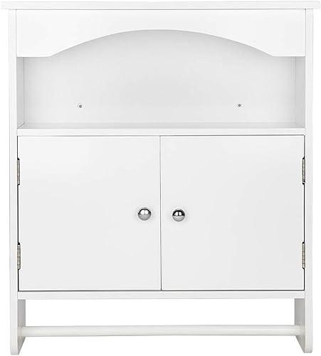 Volowoo Bathroom Wall Cabinet White