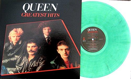 "Price comparison product image QUEEN "" GREATEST HITS "" 180 Gram UK IMPORT Color Vinyl LP w / Full Color Cover"