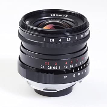 Voigtlaender Ultra Lens 28 mm/F 2 0 Leica M Connection